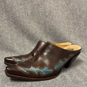 LUCCHESE - Charlie 1 Horse - Leather Mule